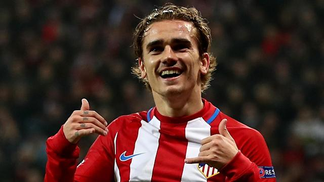 Antoine Griezmann Atletico Madrid Bayer Leverkusen Champions League 21022017