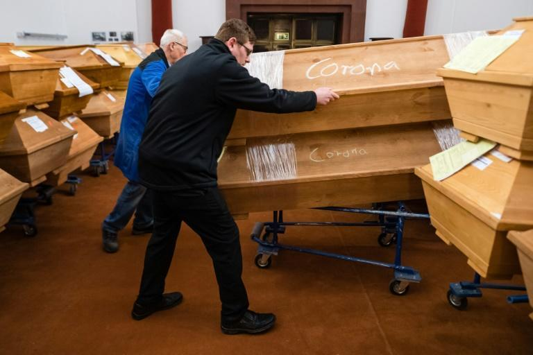 Germany's Meissen crematorium is struggling to cope, as the eastern state of Saxony tops the worst-hit zone in the second coronavirus wave the eastern state of Saxony tops the worst-hit zone in the second coronavirus wave