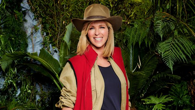 Kate Garraway is taking a break from GMB to star in I'm A Celeb (Credit: ITV)