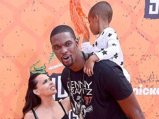 Life is hectic in the Bosh household these days. (Getty Images)