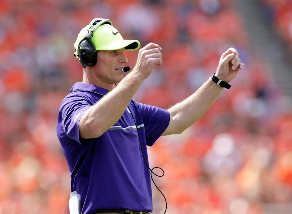Brent Venables is set to sign the largest contract for an assistant coach in college football. (Getty)
