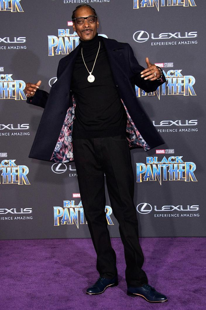 """<h1 class=""""title"""">Snoop Dogg</h1> <cite class=""""credit"""">By Valerie Macon/AFP/Getty Images.</cite>"""