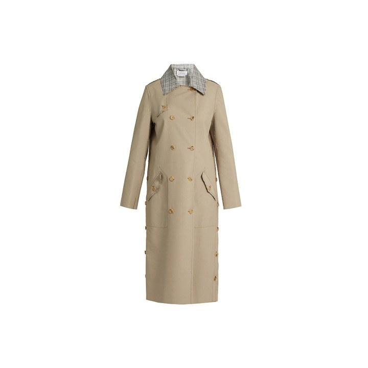 """<p>Gabriela Hearst, $3145, <a rel=""""nofollow"""" href=""""http://www.matchesfashion.com/products/Gabriela-Hearst-Claremont-reversible-trench-coat–1080238?mbid=synd_yahoolife"""">matchesfashion.com</a></p>"""