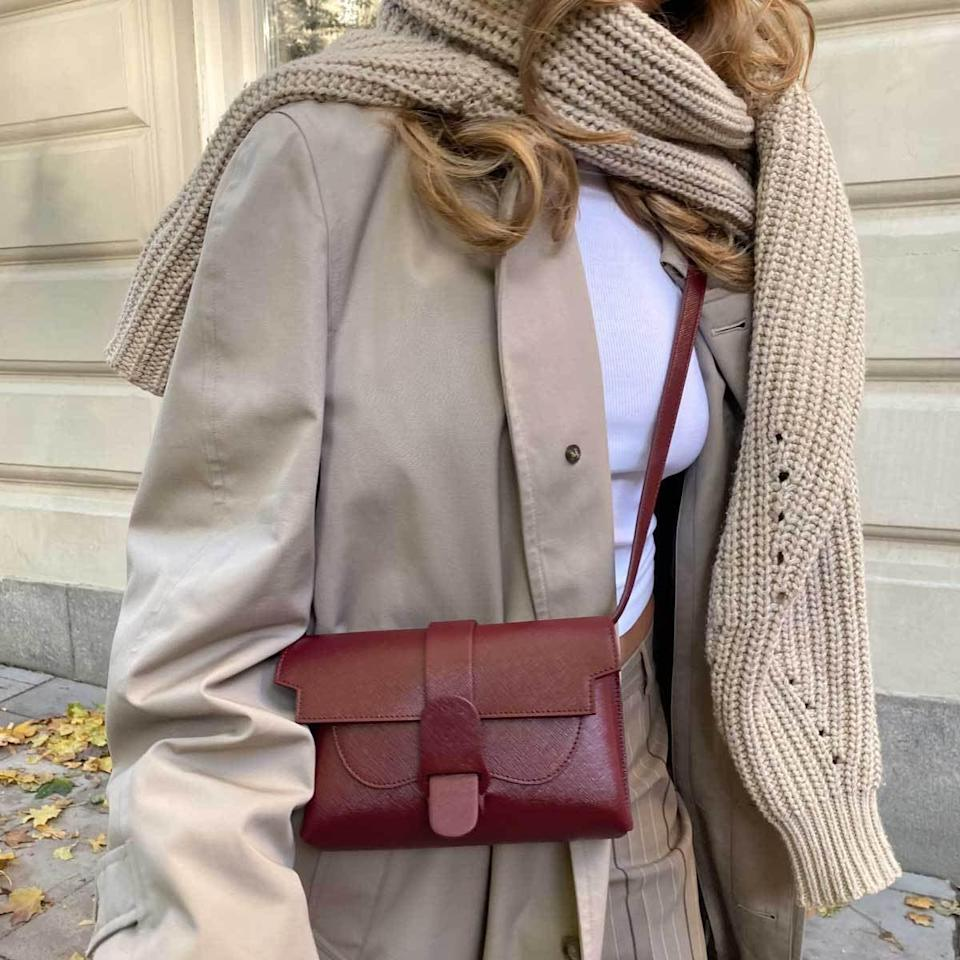 """<p>""""I love that this <span>Senreve Aria Belt Bag</span> ($445) is vegan. The color is absolutely luxe and it's the perfect size to fit all my essentials ranging from my phone to my wallet and keys."""" - NC</p>"""