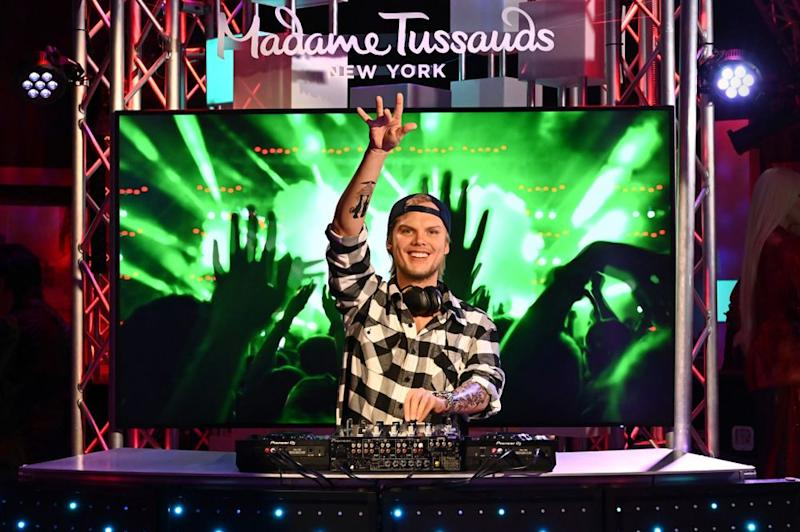 NEW YORK, NEW YORK - OCTOBER 02: Avicii Figure Reveal At Madame Tussauds New York on October 02, 2019 in New York City. (Photo by Astrid Stawiarz/Getty Images for Madame Tussauds New York)