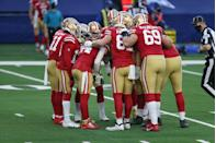 """<p>This is in the same vein as no spinning the ball after a touchdown. Certain salutes can look like you're taunting the other team, which is <a href=""""https://cleveland.cbslocal.com/2013/08/07/nfl-clarifies-celebration-rules-for-2013/"""" rel=""""nofollow noopener"""" target=""""_blank"""" data-ylk=""""slk:against NFL rules."""" class=""""link rapid-noclick-resp"""">against NFL rules.</a></p>"""