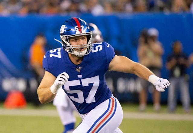 Giants' other rookie starter makes impact