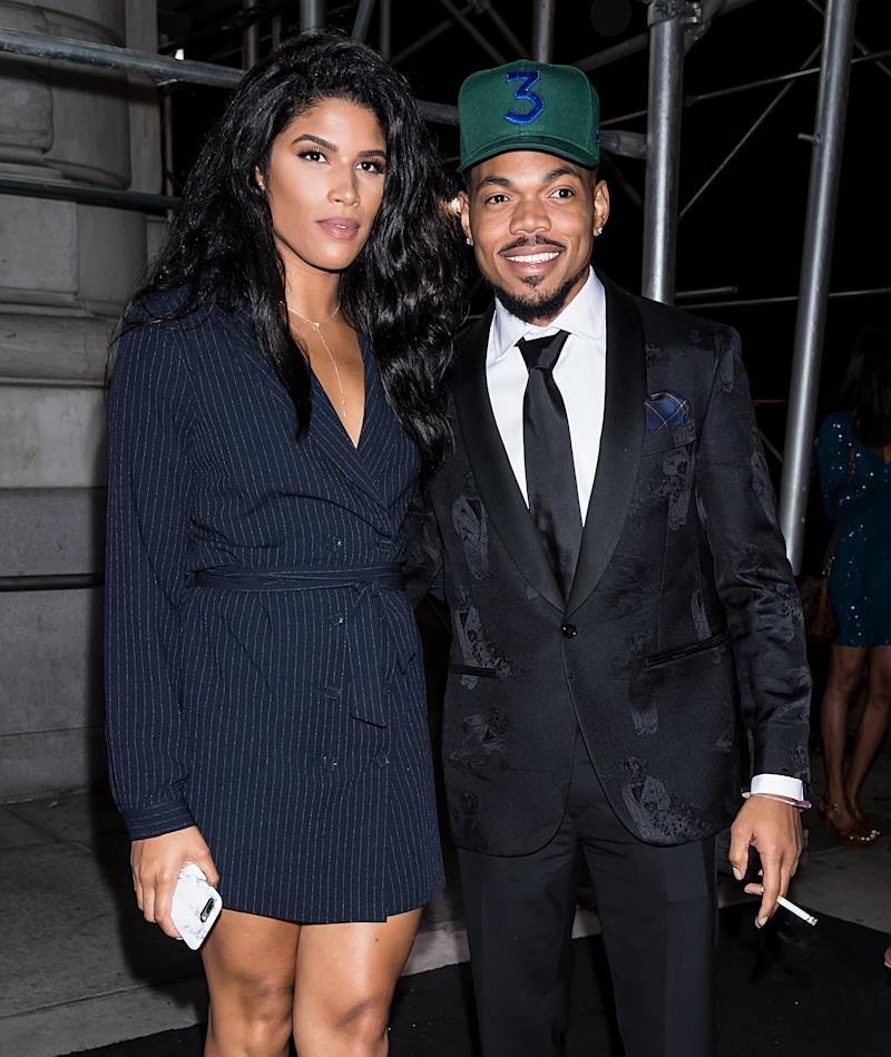 While partying in a backyard to celebrate the 4th of July, 25-year-old Chance the Rapper made the day even more festive by proposing to Kirsten Corley. (The pair has been dating for several years, and has a two-and-a-half-year-old daughter.)