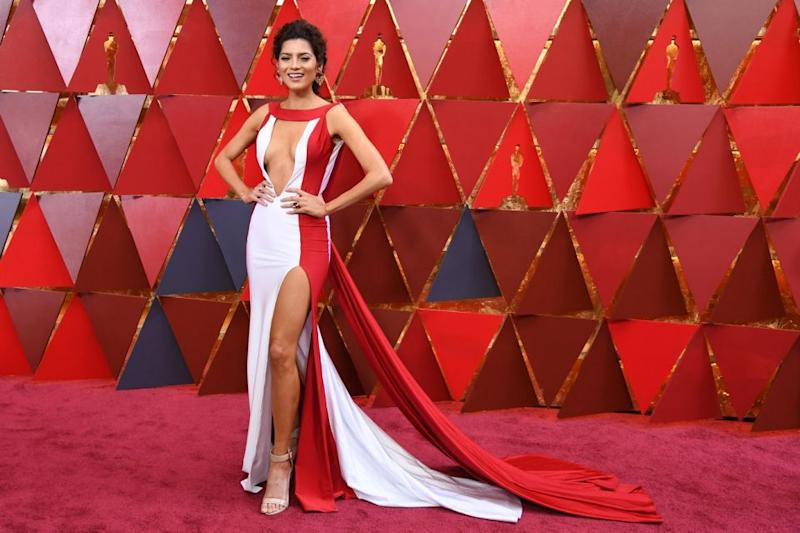 Blanca's known for her revealing gowns - and she didn't disappoint. Photo: Getty