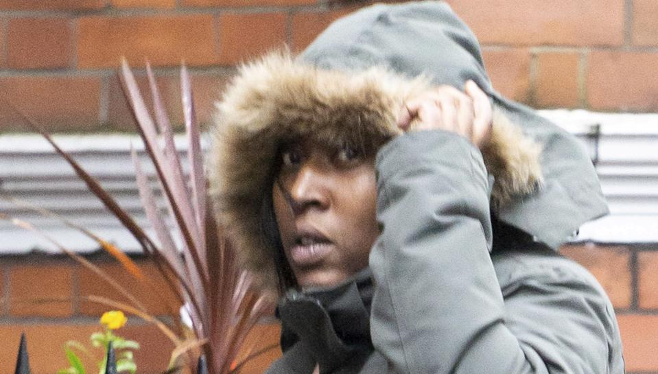 Amelia Doris outside Westminster Magistrates Court in London on Friday (Picture: SWNS)