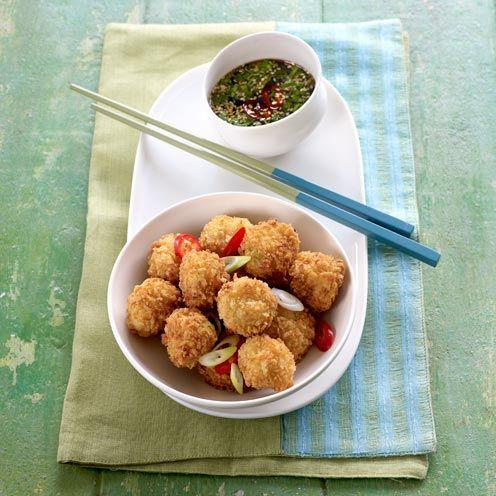 """<p>These crab balls are a fantastic starter to any special meal</p><p><strong>Recipe: <a href=""""https://www.goodhousekeeping.com/uk/food/recipes/a535630/crispy-crab-balls/"""" rel=""""nofollow noopener"""" target=""""_blank"""" data-ylk=""""slk:Crispy Crab Balls"""" class=""""link rapid-noclick-resp"""">Crispy Crab Balls</a></strong></p>"""