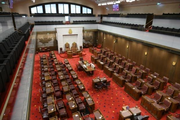 The Senate of Canada is on a summer break until September 20 at the earliest. (Sean Kilpatrick/The Canadian Press - image credit)