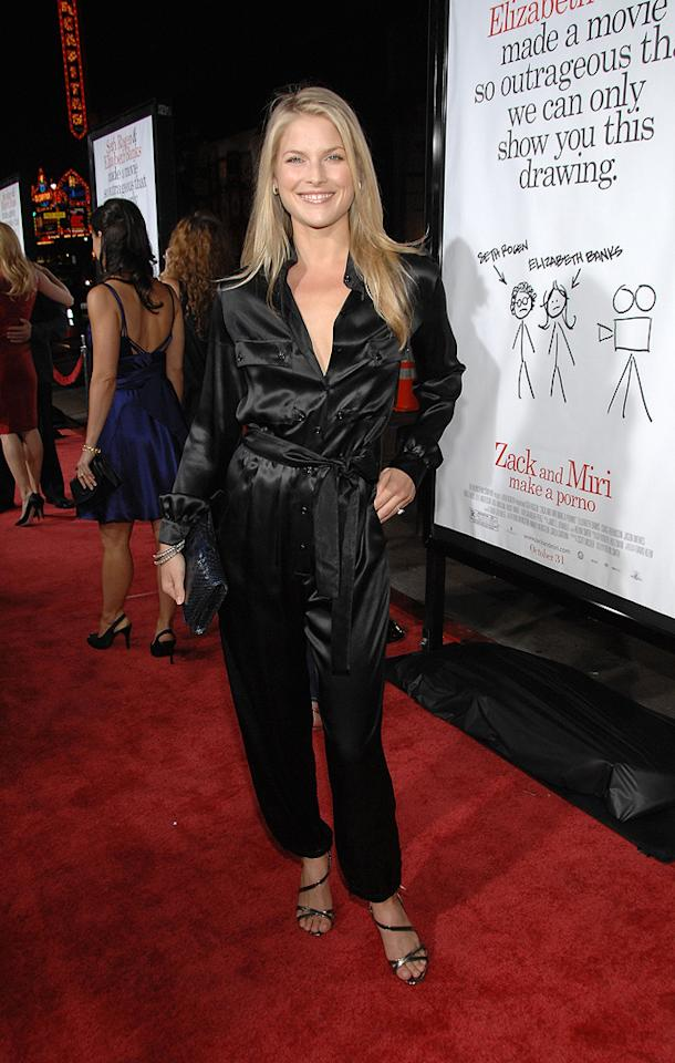 "<a href=""http://movies.yahoo.com/movie/contributor/1800019825"">Ali Larter</a> at the Los Angeles premiere of <a href=""http://movies.yahoo.com/movie/1809958867/info"">Zack and Miri Make a Porno</a> - 10/20/2008"