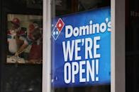 """<p><a href=""""https://www.dominos.com/en/"""" rel=""""nofollow noopener"""" target=""""_blank"""" data-ylk=""""slk:Select locations"""" class=""""link rapid-noclick-resp"""">Select locations</a> of this Pizza chain are open on Christmas — plus, they have contactless delivery!</p>"""