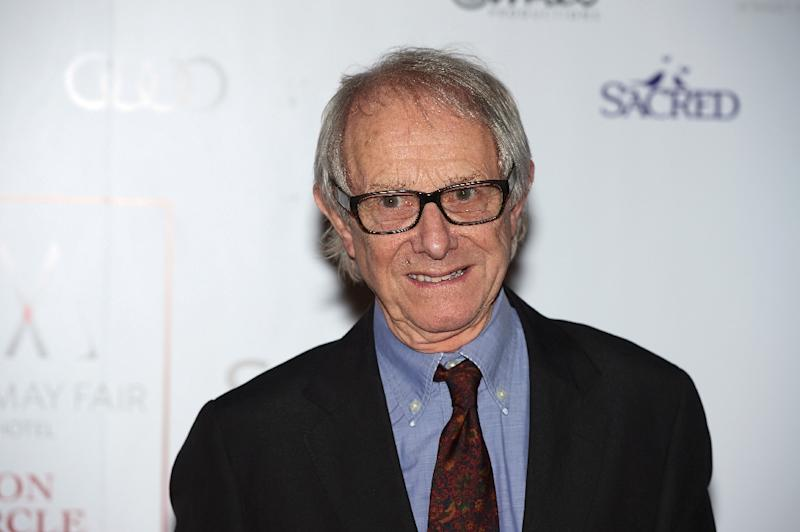 Veteran director Ken Loach is back with an indictment of the gig economy (AFP Photo/Niklas HALLE'N)