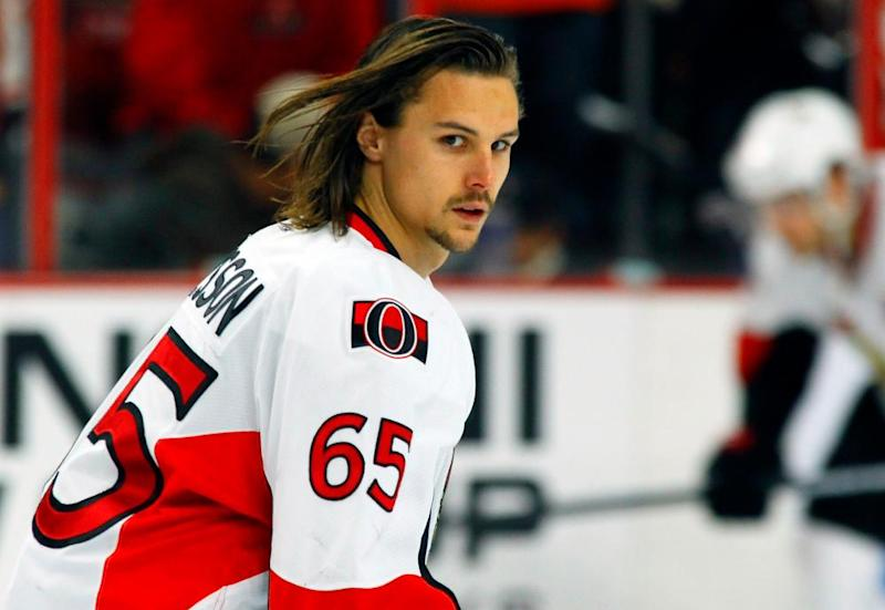 Erik Karlsson: not impressed.