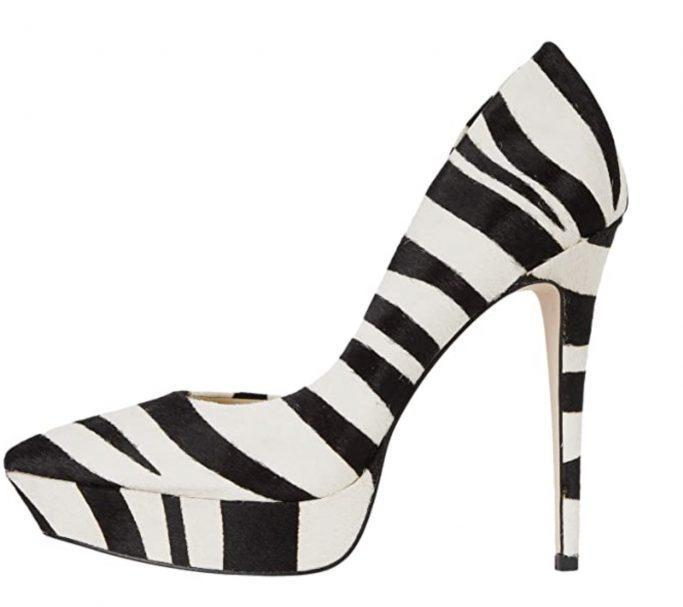 Jessica Simpson Zebra Pumps
