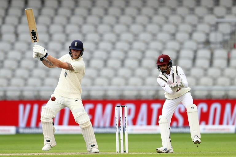 Stokes hit 176 in England's first innings