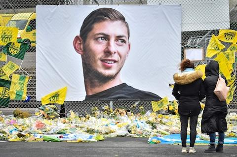 A plane carrying footballer Emiliano Sala crashed into the English Channel in January - Credit: AFP/LOIC VENANCE