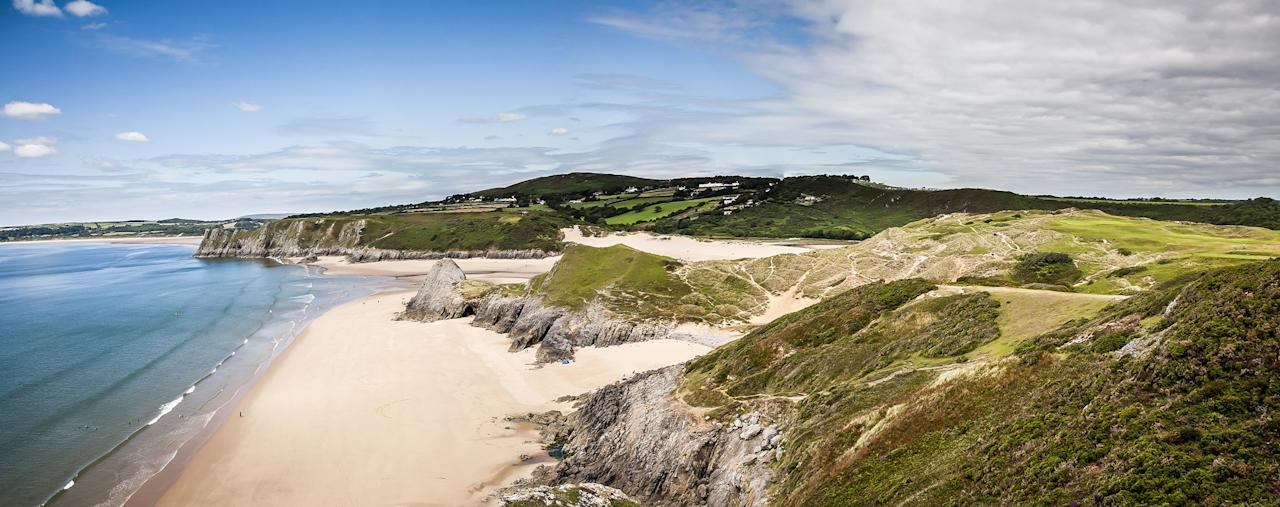 """<p>Often voted among the top sands in Britain, Europe and even the world, the best beaches in Wales are worth considering for a coastal staycation when the government lifts its travel restrictions.</p><p>Holidaymakers from Wales and other parts of the UK are set to be given the go-ahead to book overnight accommodation from 6 July if coronavirus is still under control (<a href=""""https://gov.wales/coronavirus-regulations-guidance"""" target=""""_blank"""">here's the latest advice</a>), which makes now the perfect time to start thinking about where you want to go when we're allowed to travel again.</p><p>Ahead of the reopening of tourism in one of our favourite places in the world, we've rounded up the best beaches in Wales to visit on a UK break. </p><p>As you'll want to spend longer than a day trip soaking up the sea views and relaxing on these epic sands, we've also brought you the top holiday cottages to book on or near the beach.</p><p>When it comes to the best beaches in Wales, Barafundle, Rhossili and <a href=""""https://go.redirectingat.com?id=127X1599956&url=https%3A%2F%2Fwww.airbnb.co.uk%2Fs%2FTenby%2Fhomes&sref=https%3A%2F%2Fwww.countryliving.com%2Fuk%2Ftravel-ideas%2Fstaycation-uk%2Fg32996826%2Fbest-beaches-wales%2F"""" target=""""_blank"""">Tenby</a> are among the most beautiful spots that regular feature in the world's top 20 lists.</p><p>With miles of superb coastline, there are countless sandy stretches to choose from, whether you're after the best beaches in North Wales or the most beautiful strips in the south.</p><p>From Pembrokeshire to Conwy and Gwynedd to Carmarthenshire, here's where to go to experience Wales' best beaches in 2020 and the places to stay nearby with the likes of <a href=""""https://go.redirectingat.com?id=127X1599956&url=https%3A%2F%2Fwww.airbnb.co.uk%2Fs%2FWales%2Fhomes&sref=https%3A%2F%2Fwww.countryliving.com%2Fuk%2Ftravel-ideas%2Fstaycation-uk%2Fg32996826%2Fbest-beaches-wales%2F"""" target=""""_blank"""">Airbnb</a>, <a href=""""https://go.redirectingat.com?id=127X"""