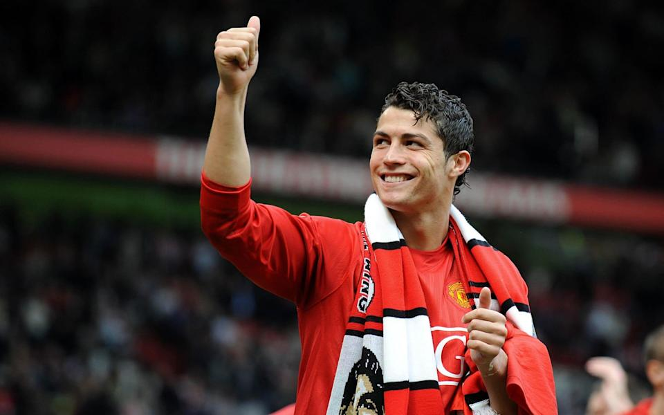 File photo dated 23-05-2008 of Manchester United's Cristiano Ronaldo. Issue date: Tuesday August 31, 2021. PA Photo. Juventus have reached an agreement with Manchester United for the transfer of Cristiano Ronaldo for an initial 15 million euro - PA/Dave Thompson