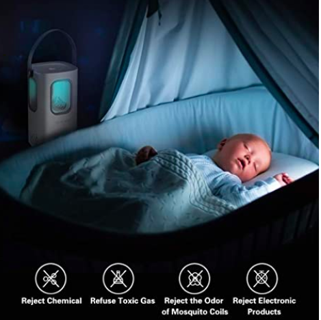 Indoor Mosquito Killing Lamp, S$66.27. PHOTO: Amazon