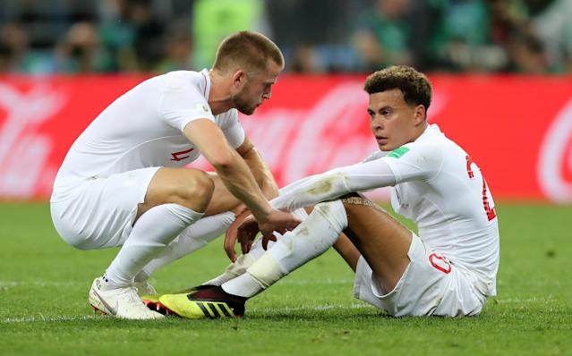 England's Dele Alli and Eric Dier were at the centre of the storm (Owen Humphreys/PA Wire).