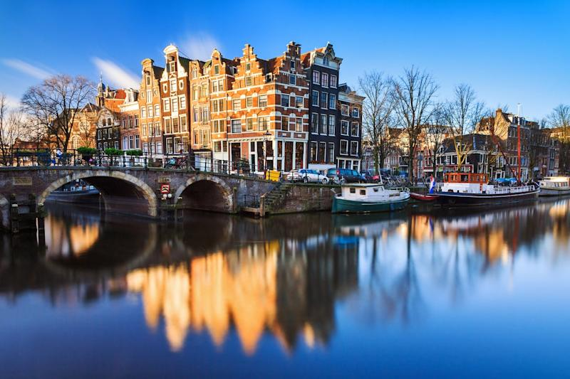 Amsterdam is one of the most popular city break destinations: Getty/iStock