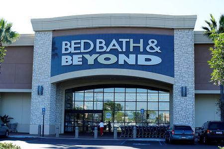 FILE PHOTO: A Bed, Bath & Beyond store is pictured in San Marcos, California