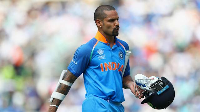Murali Vijay continues to be troubled by a right wrist injury and has been pulled from the India squad with Shikhar Dhawan replacing him.