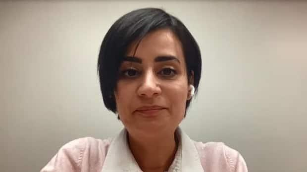 'Make your decision empowered, and get vaccinated,' says Fatima Tokhmafshan, a volunteer expert with the website covid19resources.ca.