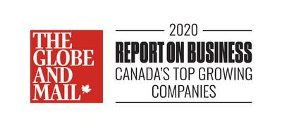 The Globe and Mail's 2020 Report on Business: Canada's Top Growing Companies (CNW Group/Altus Assessments)
