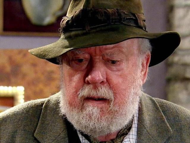 <strong>Freddie Jones (1927-2019)</strong><br>Freddie was most recently known for playing Sandy Thomas in Emmerdale from 2005 until 2018.