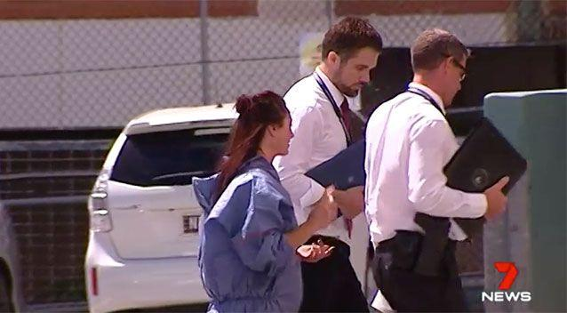 Ms Lawrence has been charged with murder. Source: 7 News