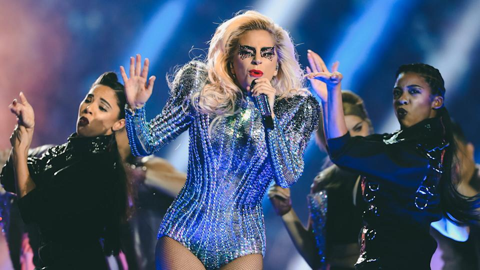 Lady Gaga Super Bowl LI performance