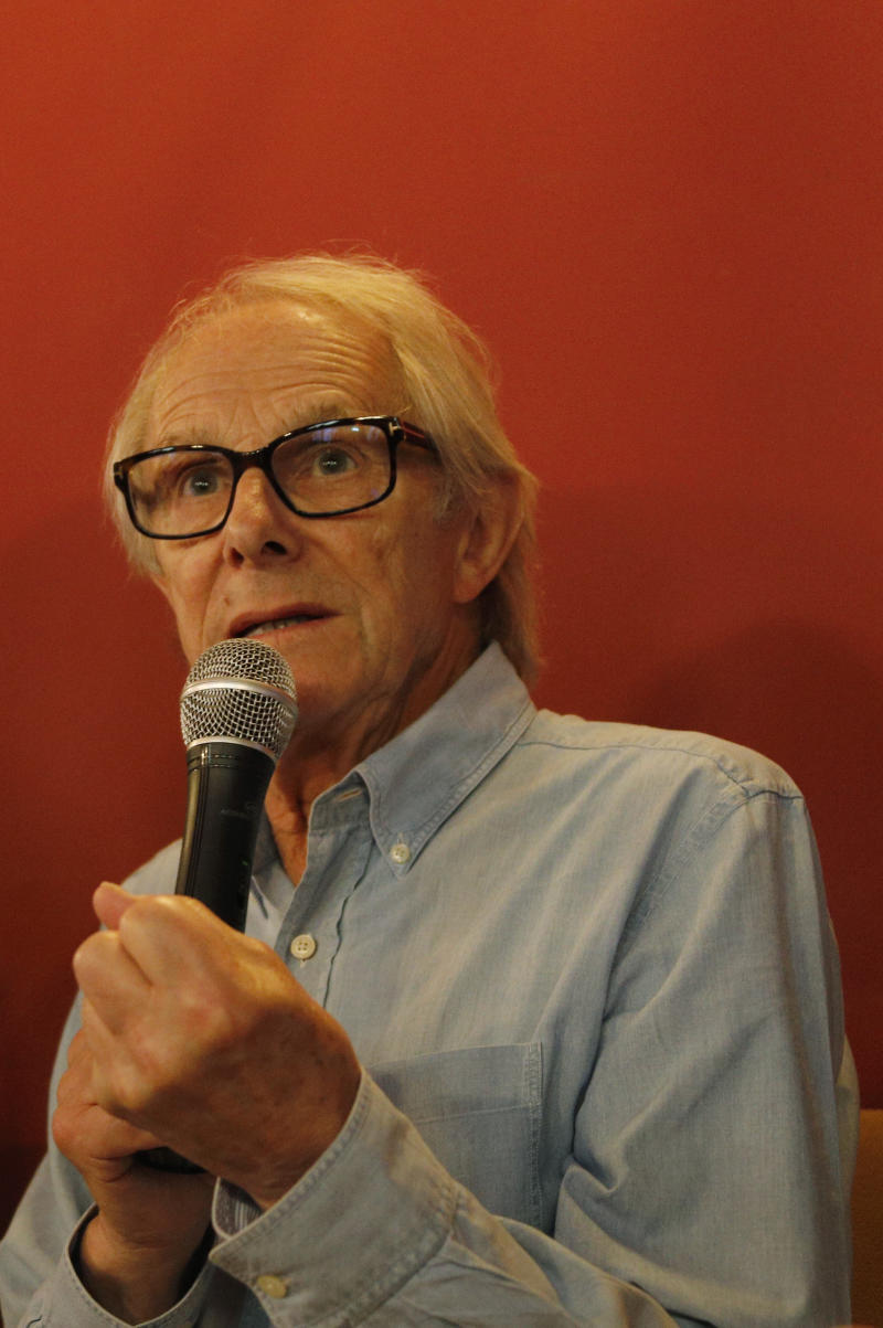 PALMA DE MALLORCA, SPAIN - JULY 02: Ken Loach attends a masterclass during the Atlantida Film Fest where many activities and movie premieres are planned on July 02, 2019 in Palma de Mallorca, Spain. (Photo by Clara Margais/Getty Images)