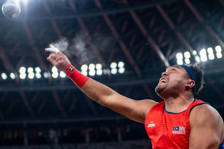 Malaysia's Muhammad Ziyad Zolkefli lost his gold medal after it was ruled there was no good reason for his failure to appear on time for competition (AFP/Philip FONG)