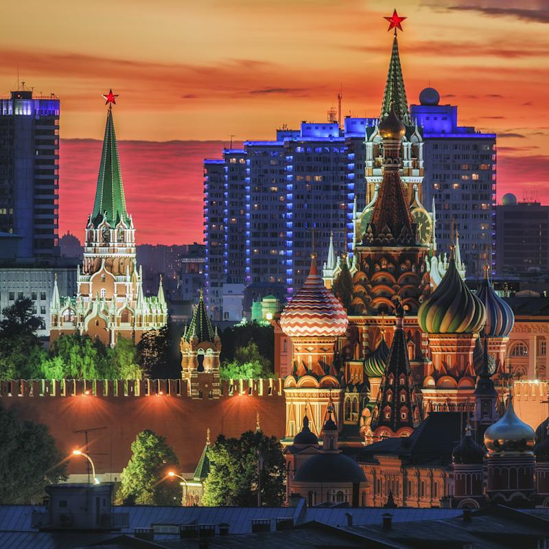 """Saint Basil's Cathedral is the focal point of Moscow's Red Square, its bright colors bound to capture any visitor's eye. This <a href=""""https://www.rbth.com/travel/2015/28/05/unesco_treasures_in_and_around_moscow"""" target=""""_blank"""">UNESCO World Heritage site's</a>unique architecture resembles a bonfire, with its multi-layered towers rising up towards the sky like flames."""