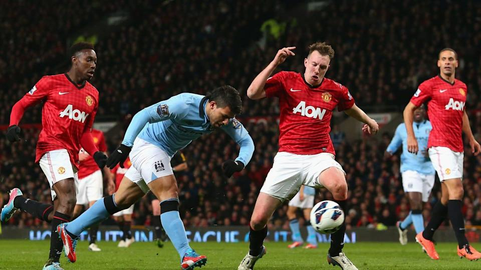 Aguero contro i Red Devils | Alex Livesey/Getty Images
