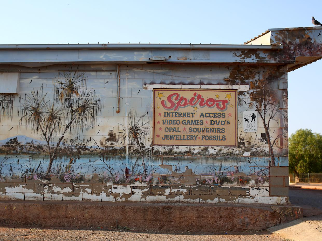 Store in Coober Pedy.