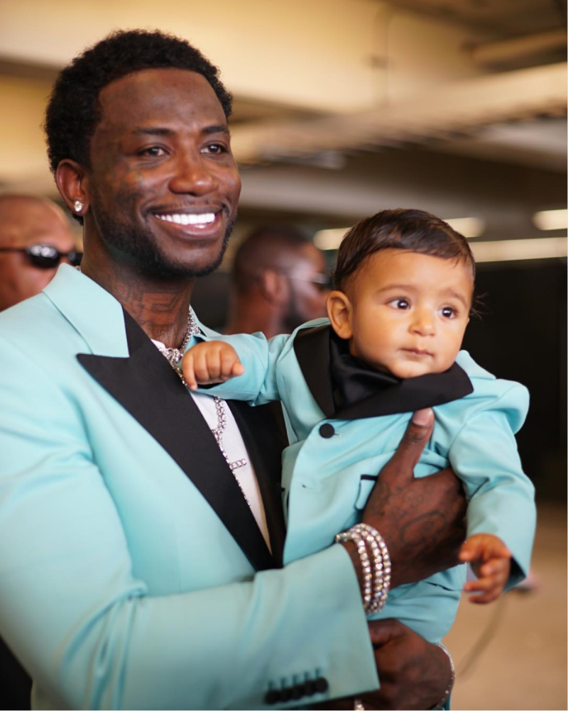 Gucci Mane and Asahd Khalid Don Matching Tuxedos At The BET Awards