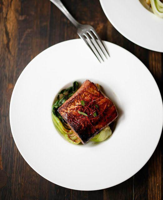 """<strong>Get the <a href=""""http://www.feastingathome.com/2014/01/tea-smoked-five-spice-salmon.html"""" target=""""_blank"""">Tea Smoked Salmon with Five Spice recipe</a> from Feasting at Home</strong>"""
