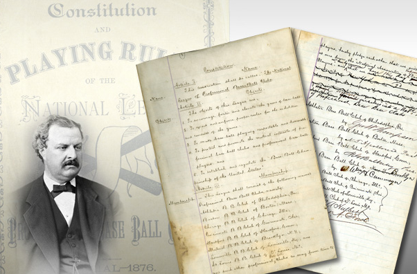 SCP Auctions is selling baseball's original constitution. (SCP Auctions)