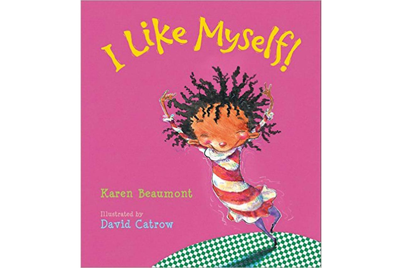 "A child who loves herself will face bullying with confidence and feel strong enough stand up for what is right. In <a rel=""nofollow"" href=""https://www.amazon.com/I-Like-Myself-Karen-Beaumont/dp/0152020136/ref=pd_sim_14_2?_encoding=UTF8&psc=1&refRID=B1A34YS6VYZ69BQ2H7Q7""><em>I Like Myself!</em></a> by Karen Beaumont, a little girl celebrates loving herself no matter what. Kids can learn that being themselves is enough from this lighthearted read. Written for preschool-aged children and older, use the silly pictures and fun rhymes to start talking to your kids about feeling strong and confident in who they are, no matter what others say."