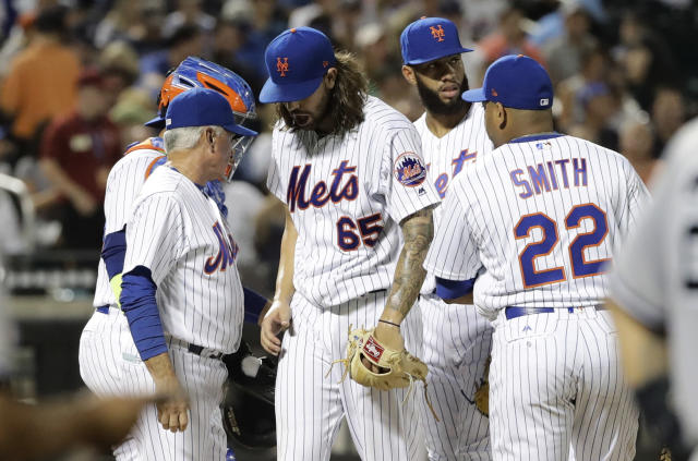Don't hang your heads, Mets fans. Winter is coming. (AP Photo)