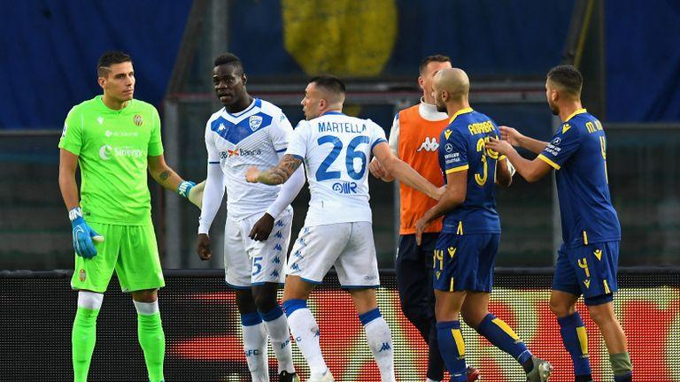 Mario Balotelli comments earn Hellas Verona ultras leader 11-year ban