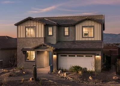 Mattamy's Mesquite floorplan at the company's Saguaro Trails community in Tucson, AZ. (CNW Group/Mattamy Homes Limited)