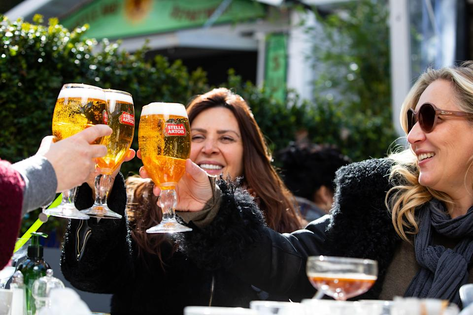 Revellers will be able to enjoy a pint inside from May 17PA Wire