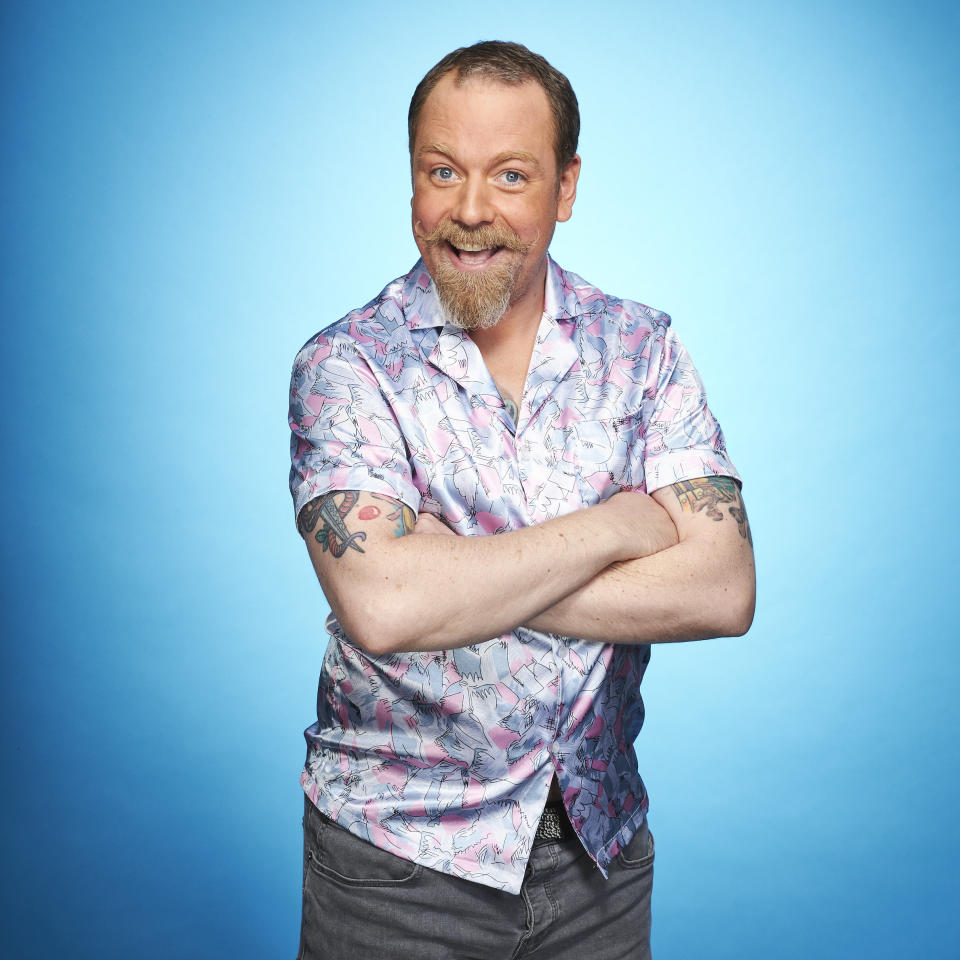 Rufus Hound completes the line-up for 'Dancing on Ice' 2021. (ITV)