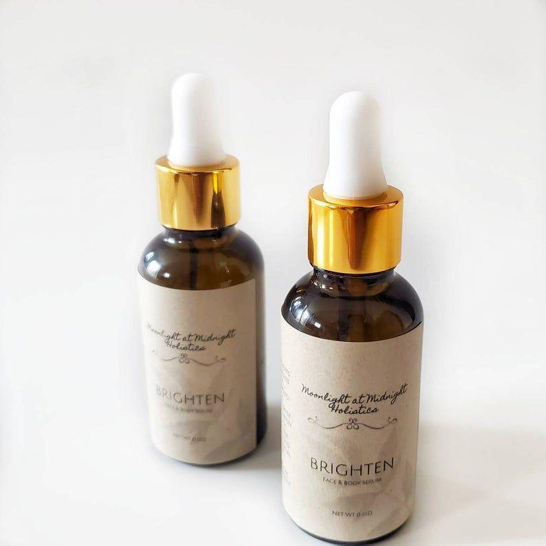 """<p><strong>MoonlightHolistics</strong></p><p>Etsy</p><p><strong>$19.99</strong></p><p><a href=""""https://go.redirectingat.com?id=74968X1596630&url=https%3A%2F%2Fwww.etsy.com%2Flisting%2F871557045%2Fbrighten-face-body-serum-skin&sref=https%3A%2F%2Fwww.womansday.com%2Flife%2Fg26944695%2Fgifts-for-new-moms%2F"""" rel=""""nofollow noopener"""" target=""""_blank"""" data-ylk=""""slk:SHOP NOW"""" class=""""link rapid-noclick-resp"""">SHOP NOW</a></p><p>Formulated with non-comedogenic, lightweight oils, this brightening face and body serum will keep a mother's skin looking glowing and bright (even when she hasn't slept for two weeks). </p>"""